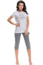 Dn-nightwear PCB.9205 piżama grey