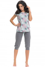 Dn-nightwear PM.9214 piżama mint grey