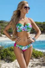 Ewlon Ibiza dwuczęściowy zielono-różowy