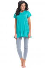 Dn-nightwear PCB.9228 piżama dark mint