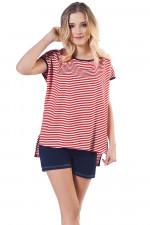 Italian Fashion Kami kr.r. kr.sp. piżama czerwony