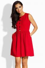 Lemoniade L203 sukienka czerwony