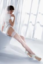 Gabriella Wedding Princessa 06 Code 190 Wzorzyste bianco
