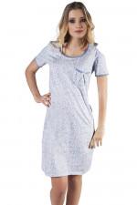 Italian Fashion Justyna kr.r. koszula błękit