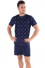 Italian Fashion Tomir kr.r. kr.sp. piżama granat