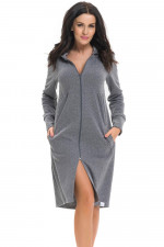 Dn-nightwear SCL.9270 szlafrok dark grey