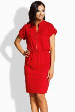 Lemoniade L207 sukienka czerwony