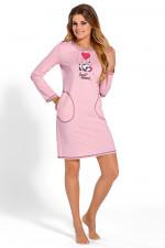 Babella 3106 koszula różowy jasny