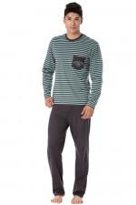 Rossli SAM-PY 103 piżama niebieski
