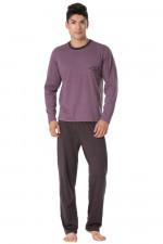 Rossli SAM-PY 104 piżama fioletowy