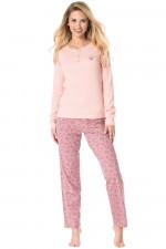 Rossli SAL-PY 1070 piżama pudrowy róż