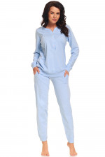 Dn-nightwear PM.9326 piżama blue grey