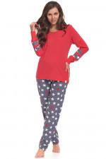 Dn-nightwear PM.9349 piżama red