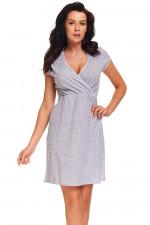 Dn-nightwear TCB.9394 koszula light grey