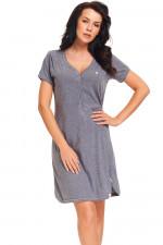 Dn-nightwear TM.9301 Koszula dark grey