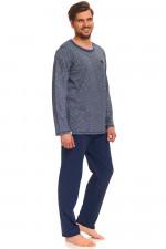 Dn-nightwear PMB.9320 piżama navy jeans