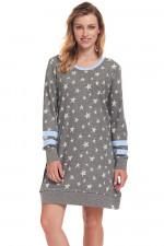Dn-nightwear TD.9344 koszula dark grey