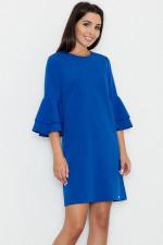 Figl M564 sukienka niebieski