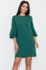Figl M564 sukienka zielony
