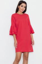 Figl M564 sukienka czerwony