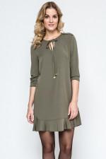 Ennywear 240079 sukienka khaki