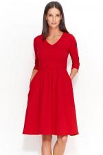 Numinou NU58 sukienka czerwony