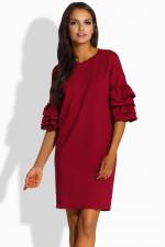 Lemoniade L229 sukienka bordo