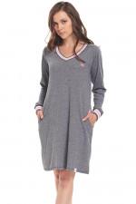 Dn-nightwear TM.9307 koszula grey-p