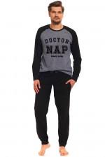 Dn-nightwear PMB.9388 piżama dark grey