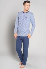 Italian Fashion Kristo dł.r. dł.sp. piżama jeans/granat