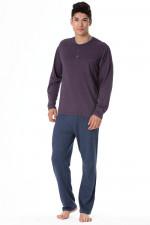 Rossli SAM-PY 102 piżama fioletowy melange