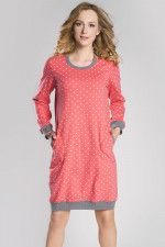 Italian Fashion Alezja dł.r. koszula malina