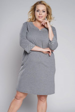 Italian Fashion Damia r.3/4 koszula średni melanż