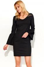 Makadamia M366 sukienka czarny