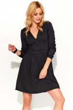 Makadamia M370 sukienka czarny