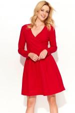 Makadamia M374 sukienka czerwony