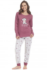 Dn-nightwear PM.9338 piżama blueberry