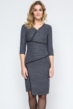 Ennywear 240031 sukienka czarny melange