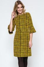Ennywear 240034 sukienka żółty/czarny