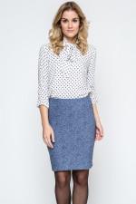 Ennywear 240131 spódnica niebieski melange