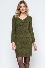 Ennywear 240117 sukienka khaki/czerń