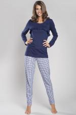 Italian Fashion Tessa dł.r. dł.sp. piżama granat