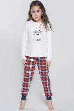 Italian Fashion Carmen Dz. dł.r. dł.sp. piżama ecru