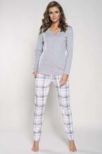 Italian Fashion Hana dł.r. dł.sp. piżama melanż