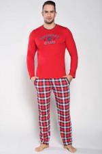 Italian Fashion Ramzes dł.r.dł.sp. piżama czerwony