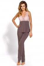 Nipplex Caroline piżama mokka