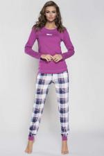 Italian Fashion Marta dł.r. dł.sp. piżama jeżyna
