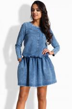 Lemoniade L231 sukienka jeans
