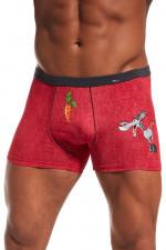 Cornette Walentynkowe Donkey bokserki czerwony