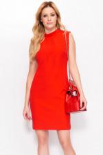 Makadamia M395 sukienka czerwony